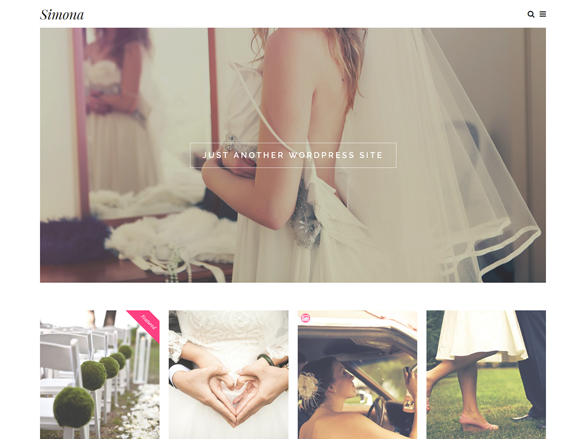 40 Free WordPress Wedding Themes 2018 - GetWPTemplates